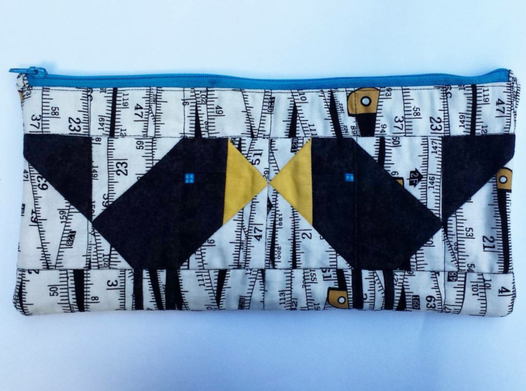 Birds zipper pouch