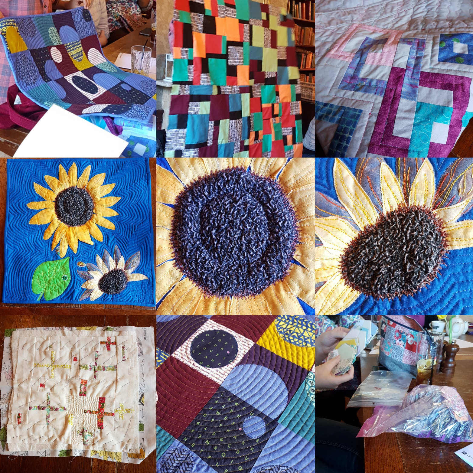 London Modern Quilt Guild March Meeting