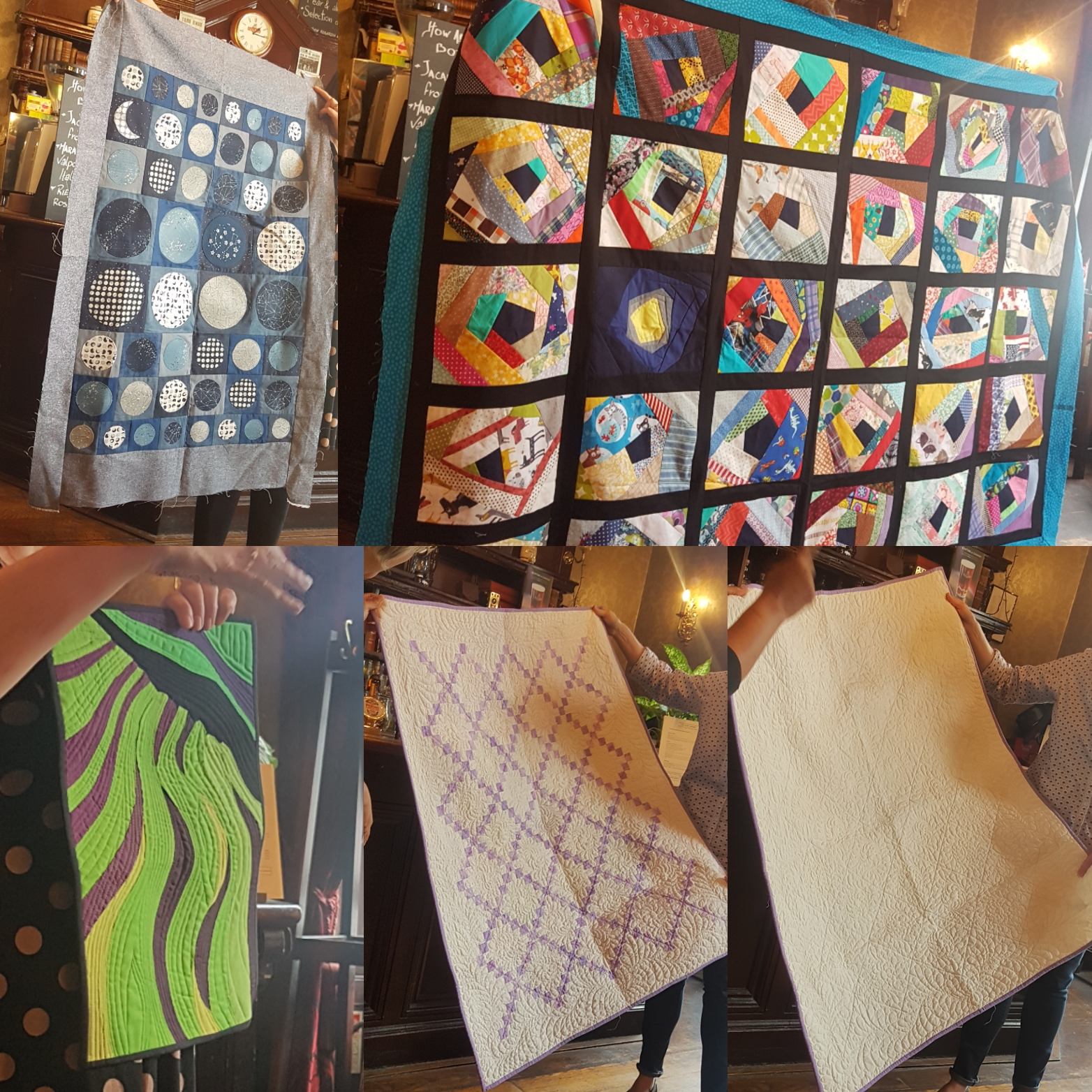 London Modern Quilt Guild June Meeting