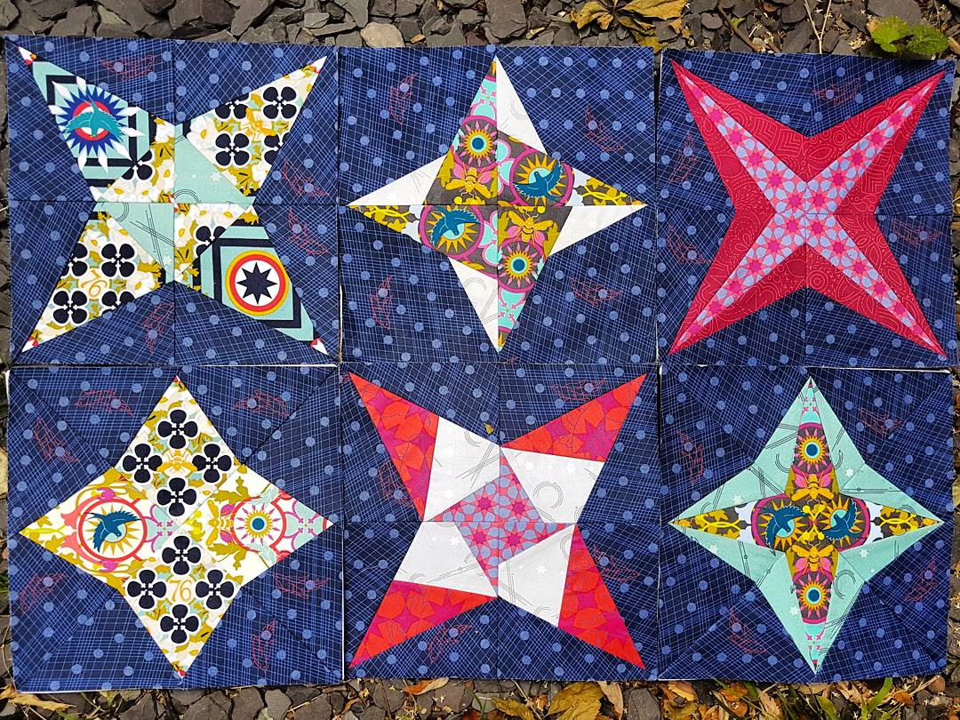 Milky Way Sampler – 6 blocks and half way through