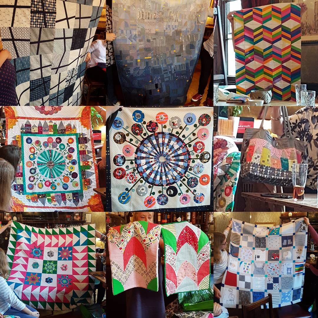 London Modern Quilt Guild September Meeting