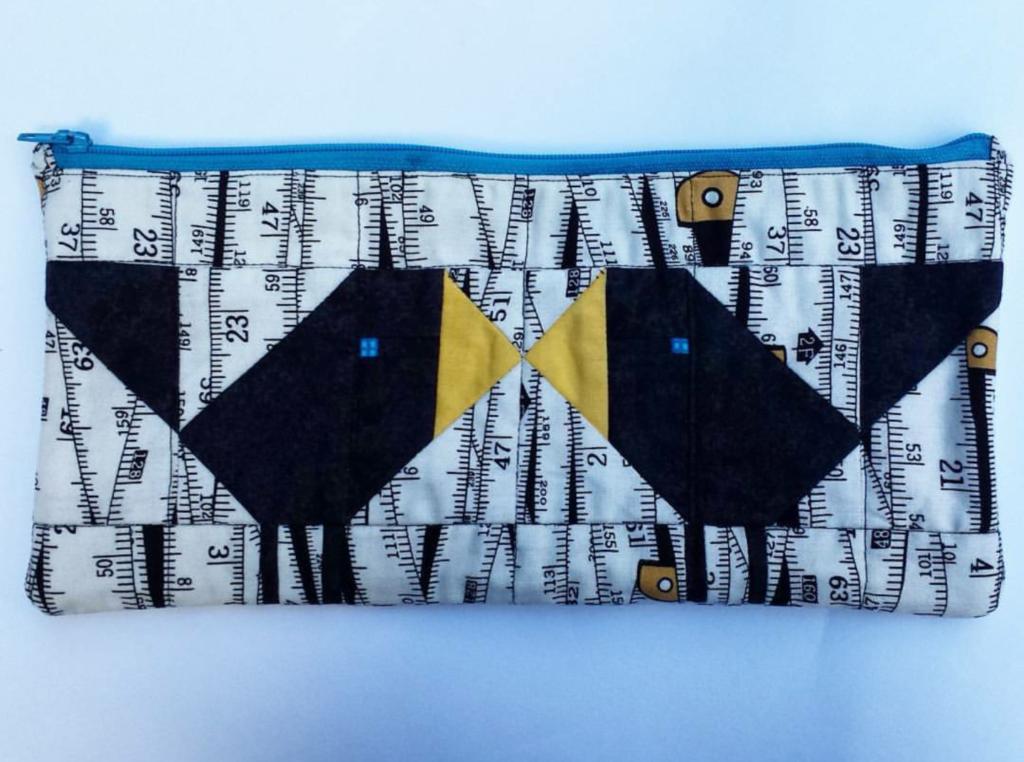 Birds zipper pouch
