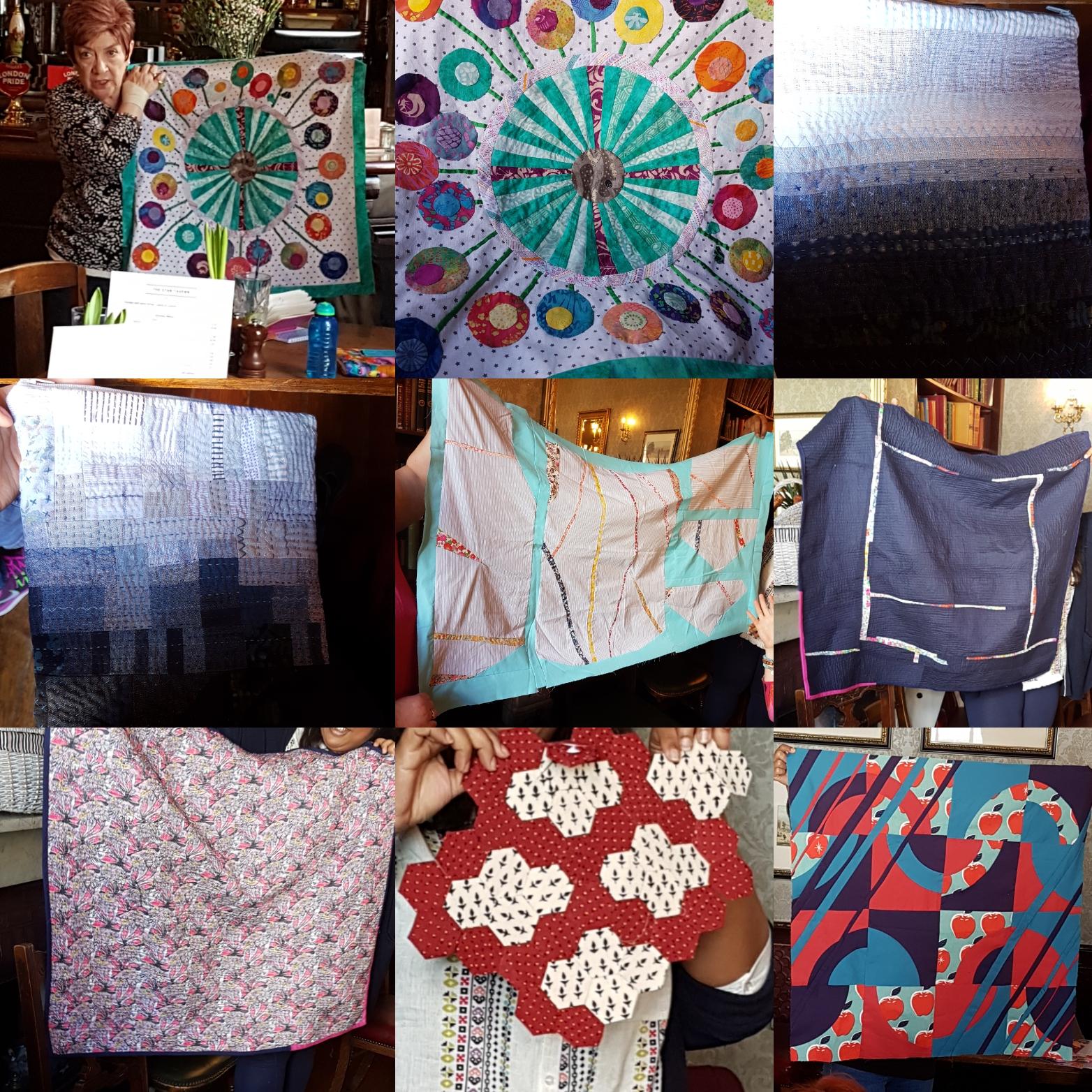 London Modern Quilt Guild April Meeting