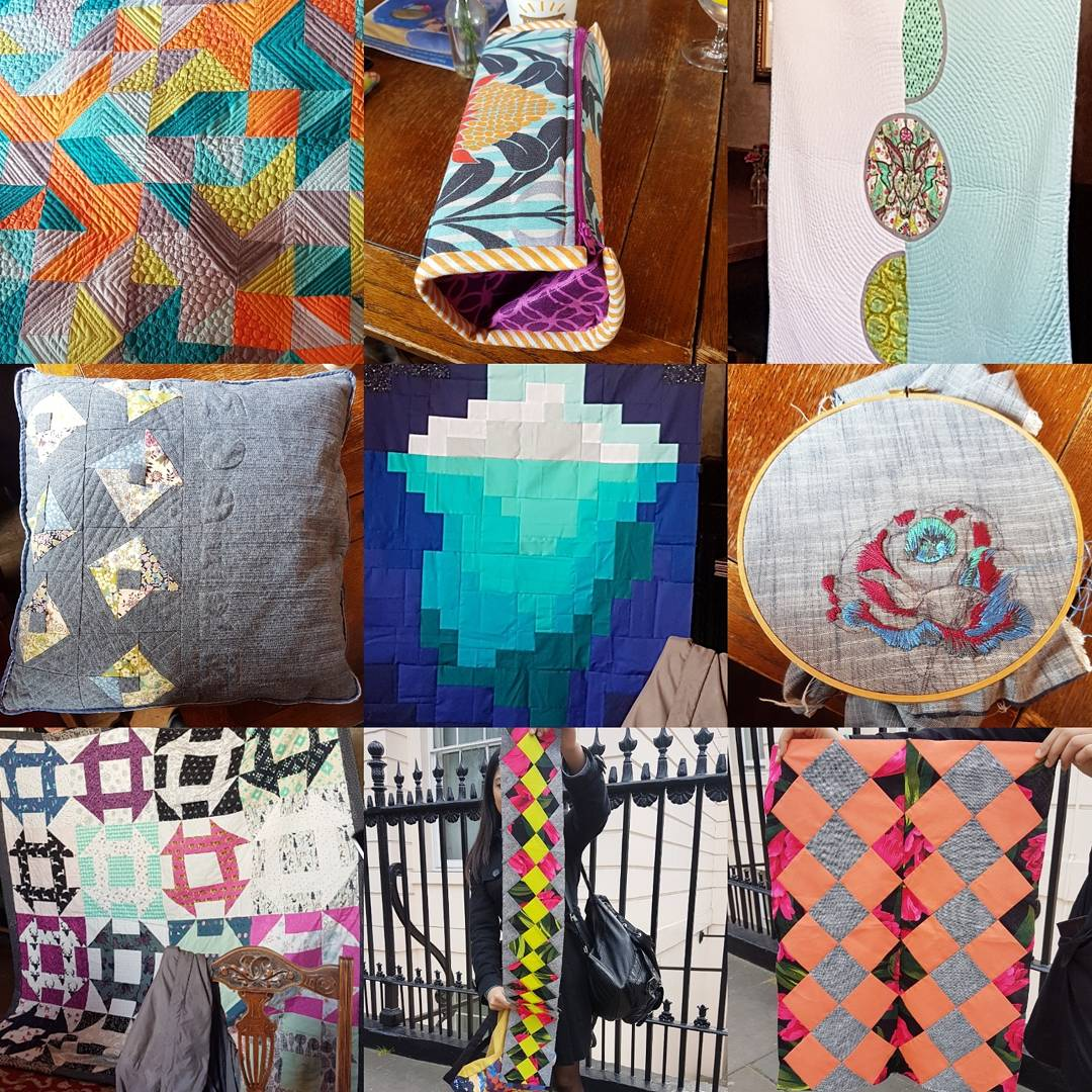 London Modern Quilt Guild May Meeting